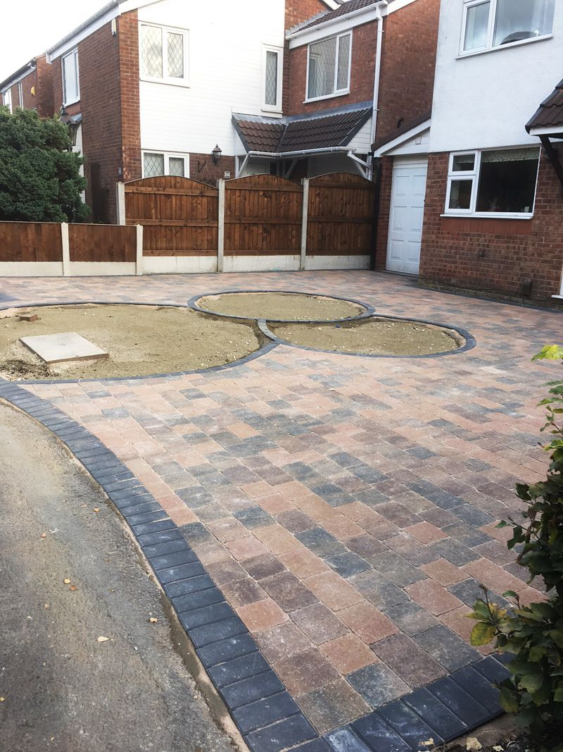 Block paving driveway Warrington
