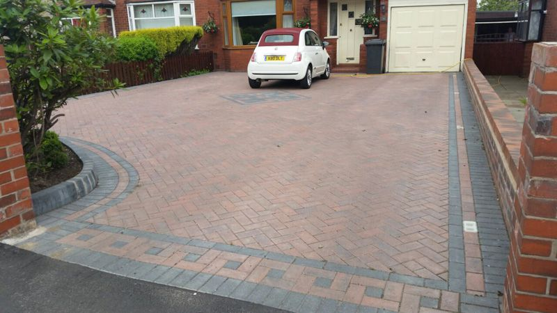 Brindle brick drive Wigan