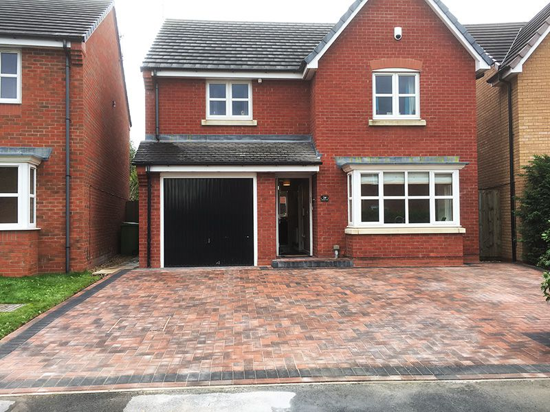 Brindle drive charcoal boarder Wigan