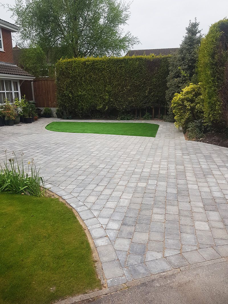Granite stone Sorrento driveway Warrington