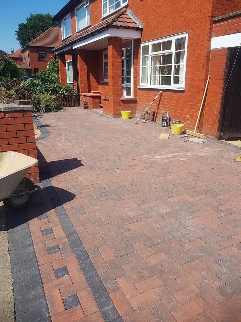 Block paved drive Wigan