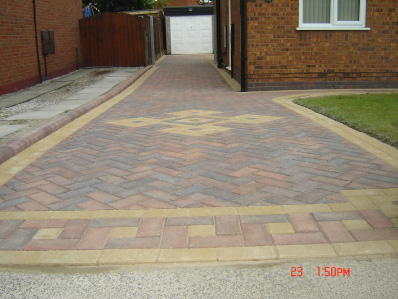 Driveway Work in Leigh