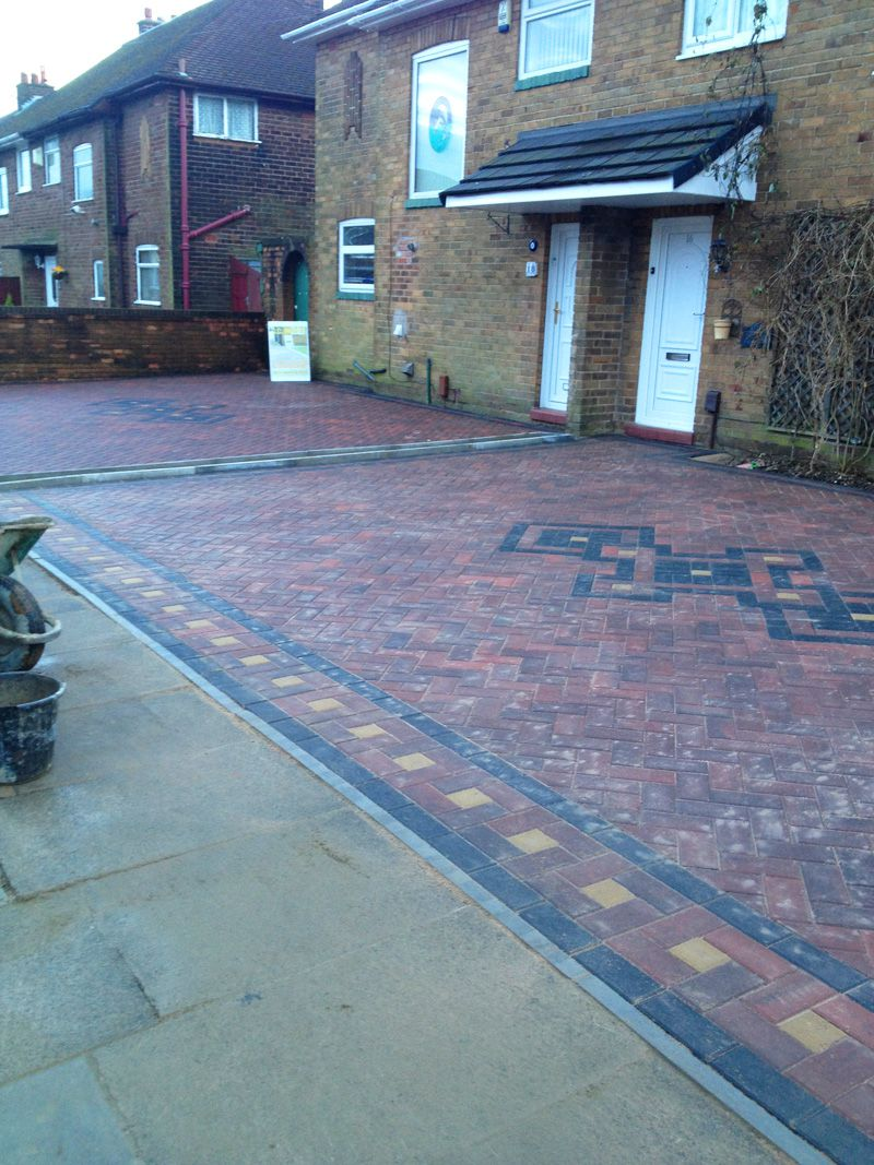 Block Paved Drive - AFTER