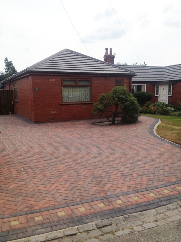 Pal space 60ml brindle block paving