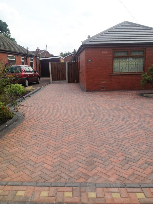 Plaspave brindle 60ml block paving