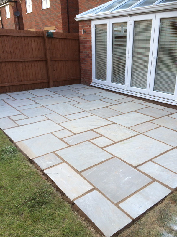 Dove grey Indian stone