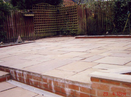 Patio Work in Wigan