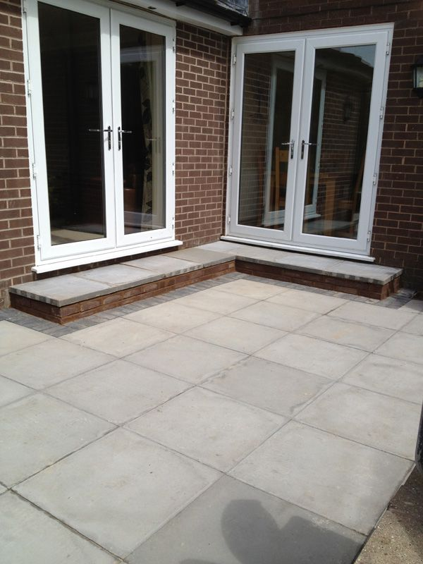 Patio Work in Leigh
